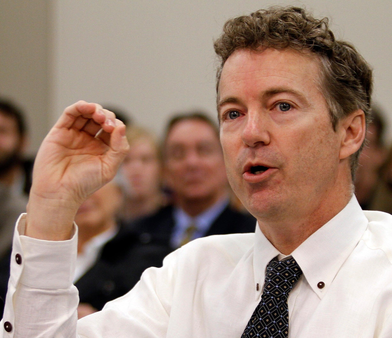 Sen. Rand Paul (R-Ky.) (James Crisp/Associated Press)