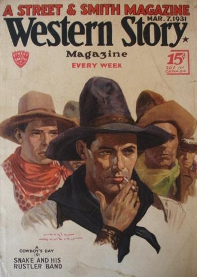 Gayle Hoskins - A Cowboy's Day - Snake and his rustler band