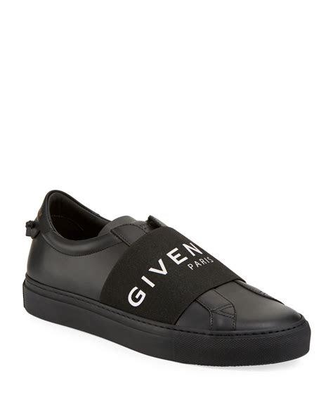 givenchy mens urban street elastic slip  sneakers