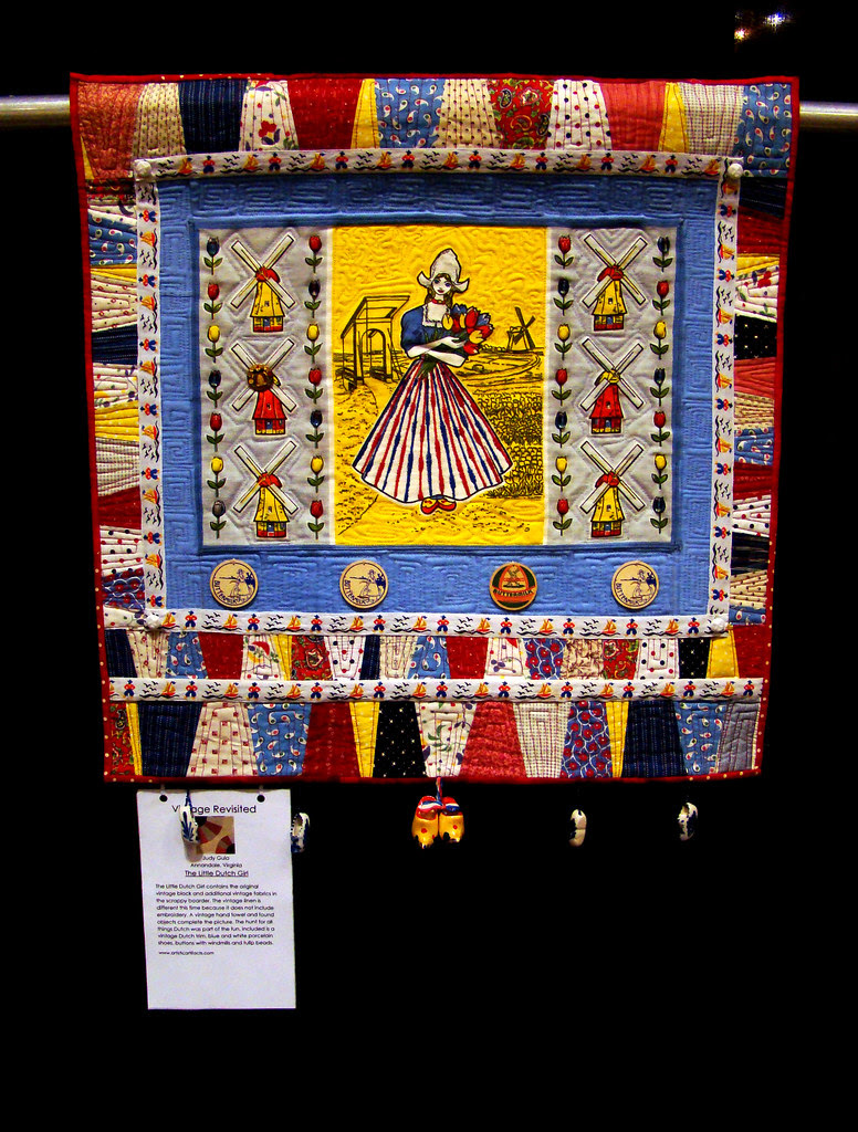 DSC02714 Quilt Vintage Revisited The Little Dutch Girl by Judy Gula