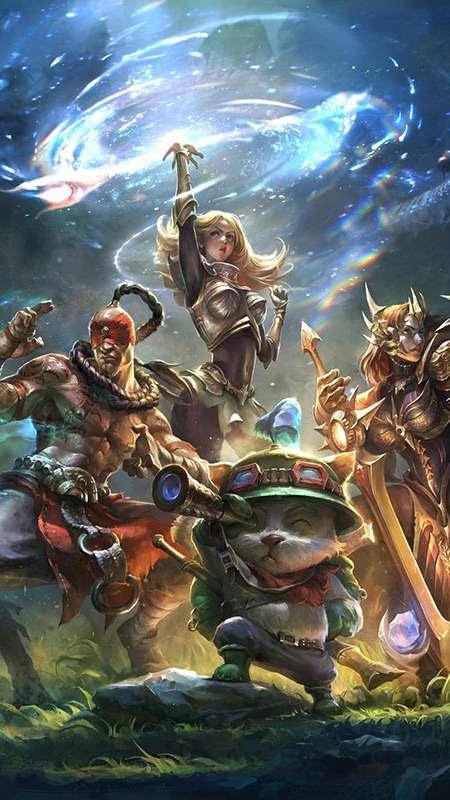 League of Legends wallpapers or desktop backgrounds