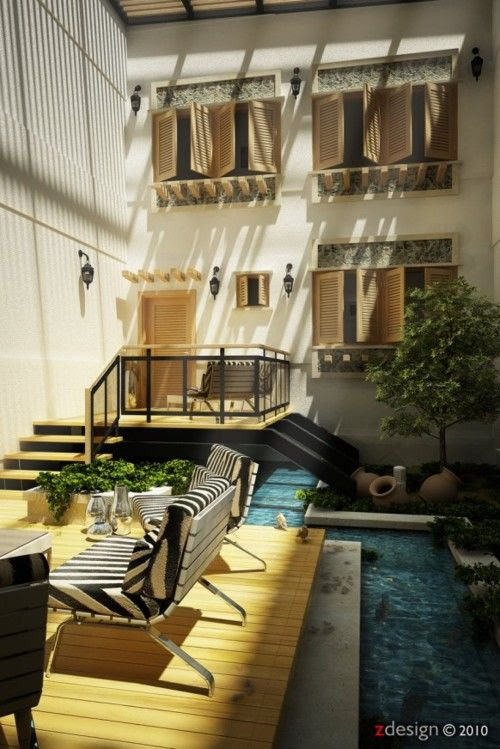 Small Courtyard Design Ideas