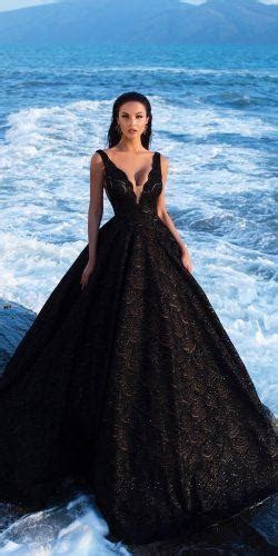 21 Black Wedding Dresses With Edgy Elegance   Wedding Forward