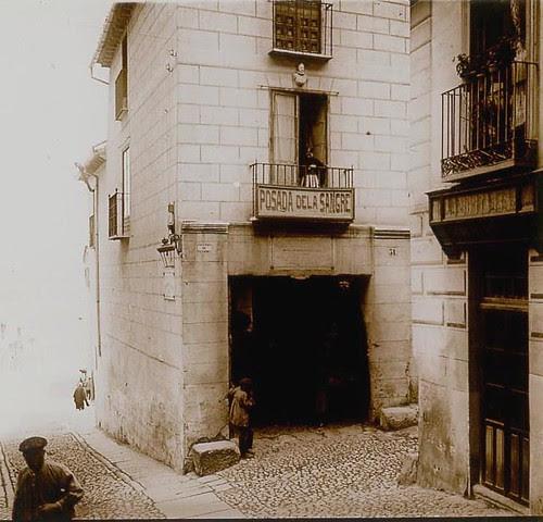 Posada de la Sangre a principios del siglo XX.Toledo