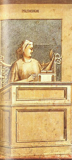 Prudence, by Giotto di Bondone