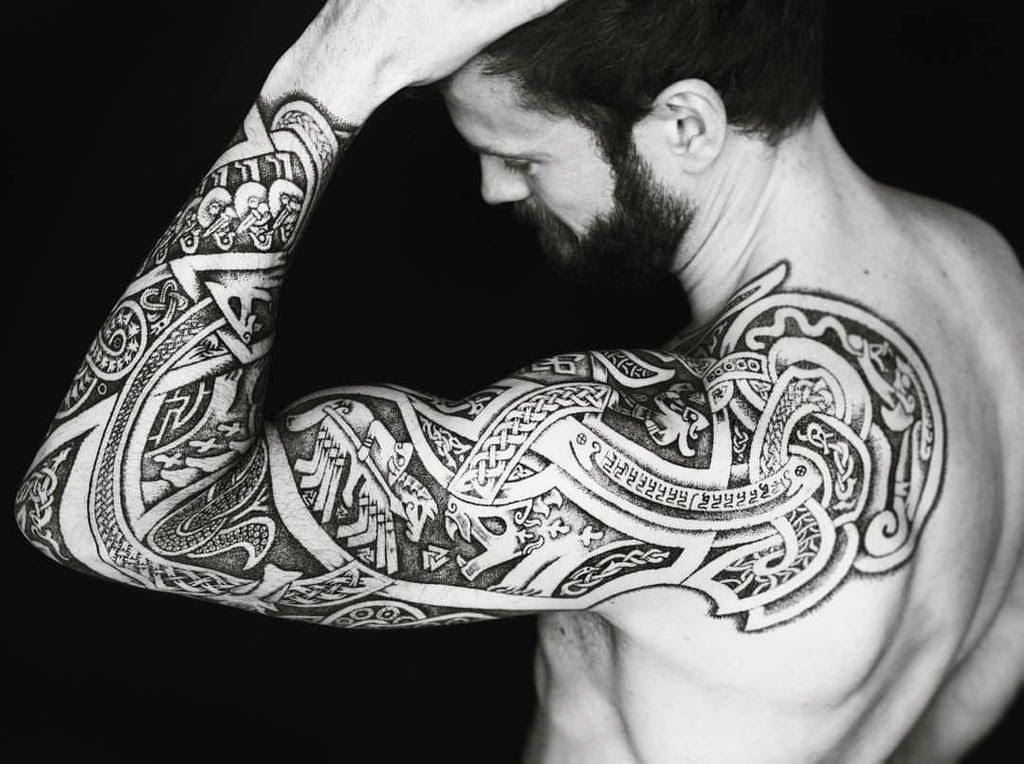 Viking Jormungand Tattoo Ouroboros Tattoo Bavipower Blog