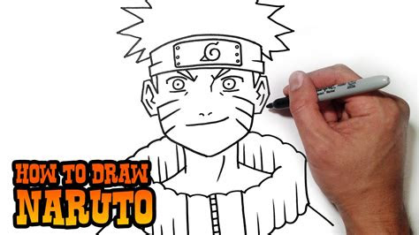 draw naruto simple video lesson youtube