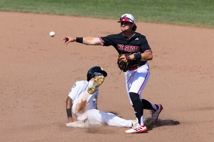 Due to Covid-19 protocols, a College World Series run ends abruptly for North Carolina State.