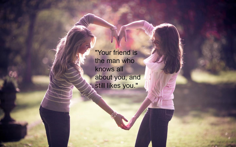 Best Vrienden Forever Bff Afbeeldingen Best Friend Quote Hd