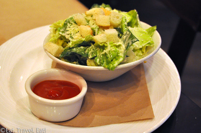 Great Maple (Fashion Island)- Newport Beach, CA: GM Trio Steak & Frites- Caesar Salad