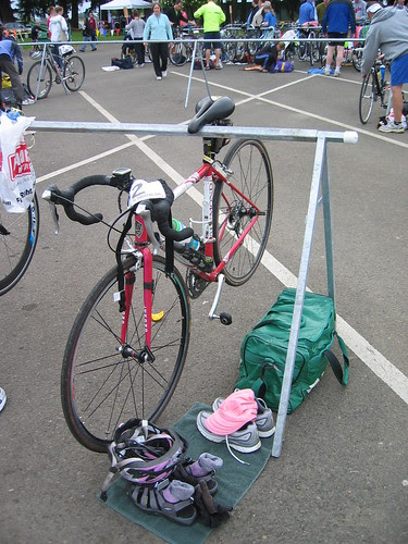 My transition area