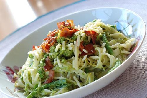 pasta-greenpeas