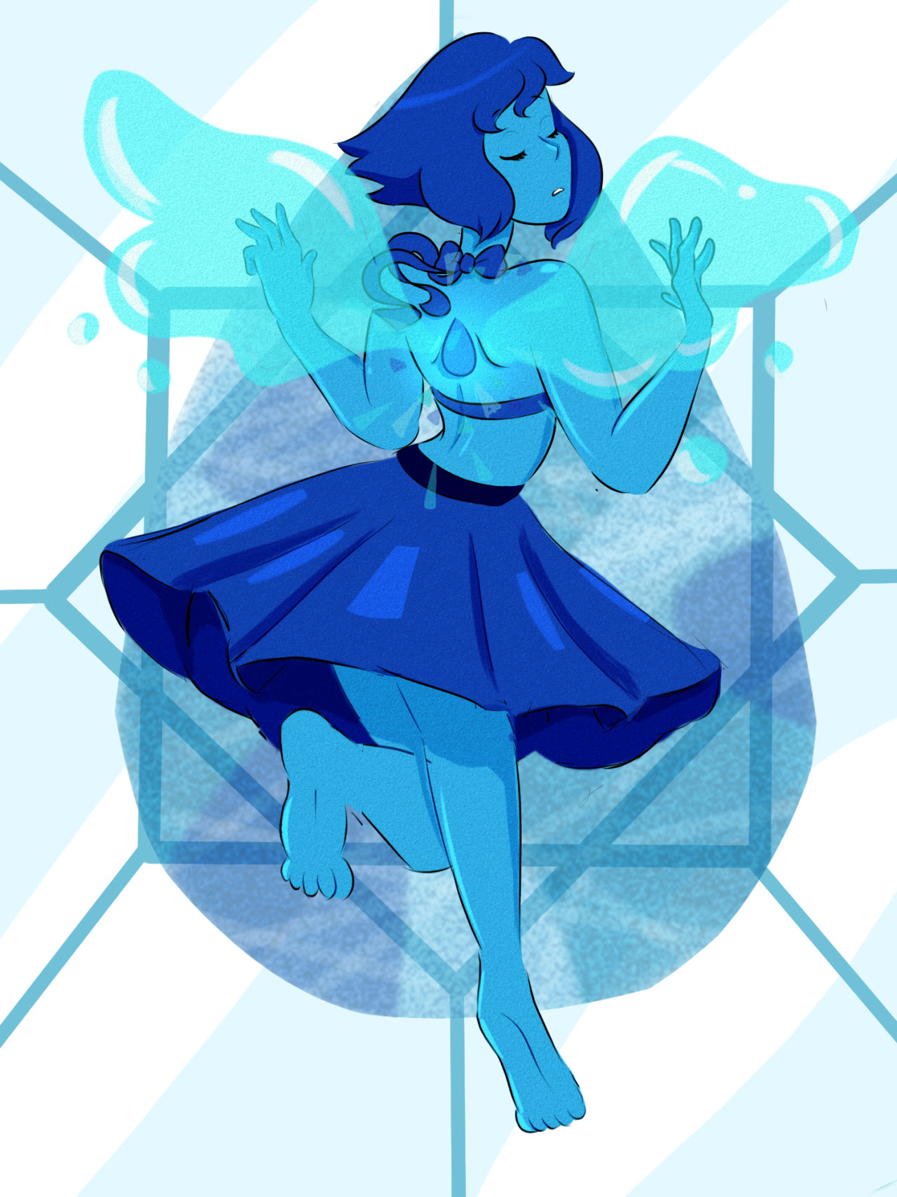 """I'm Lapis Lazuli, and you can't keep me trapped here anymore!"""