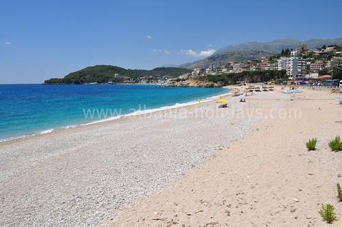 Himara Beach in Albania