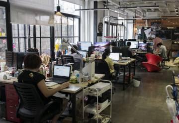 Imagen de una de las 'start-ups' de Chinaccelerator en Shanghái.