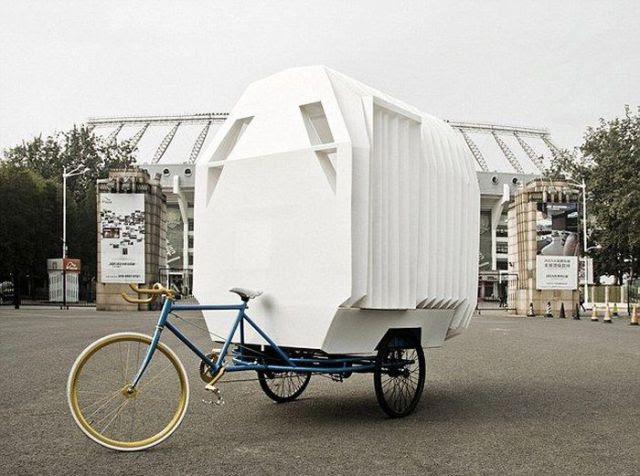 Innovative Chinese Bike House