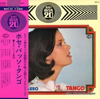 BASSO, JOSE tango max 20