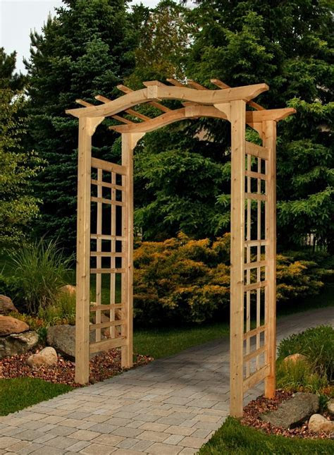 Photos of garden arbors