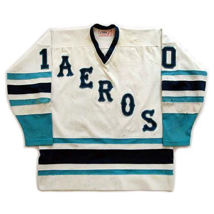 Houston Aeros 1977-78 F jersey