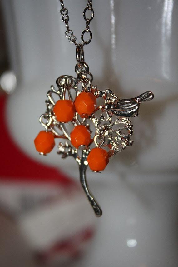 The Orange Tree Necklace