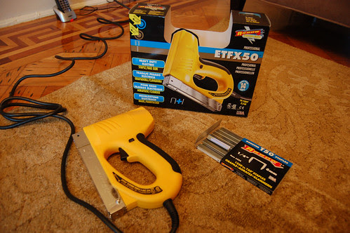 My new toy - electric staple gun