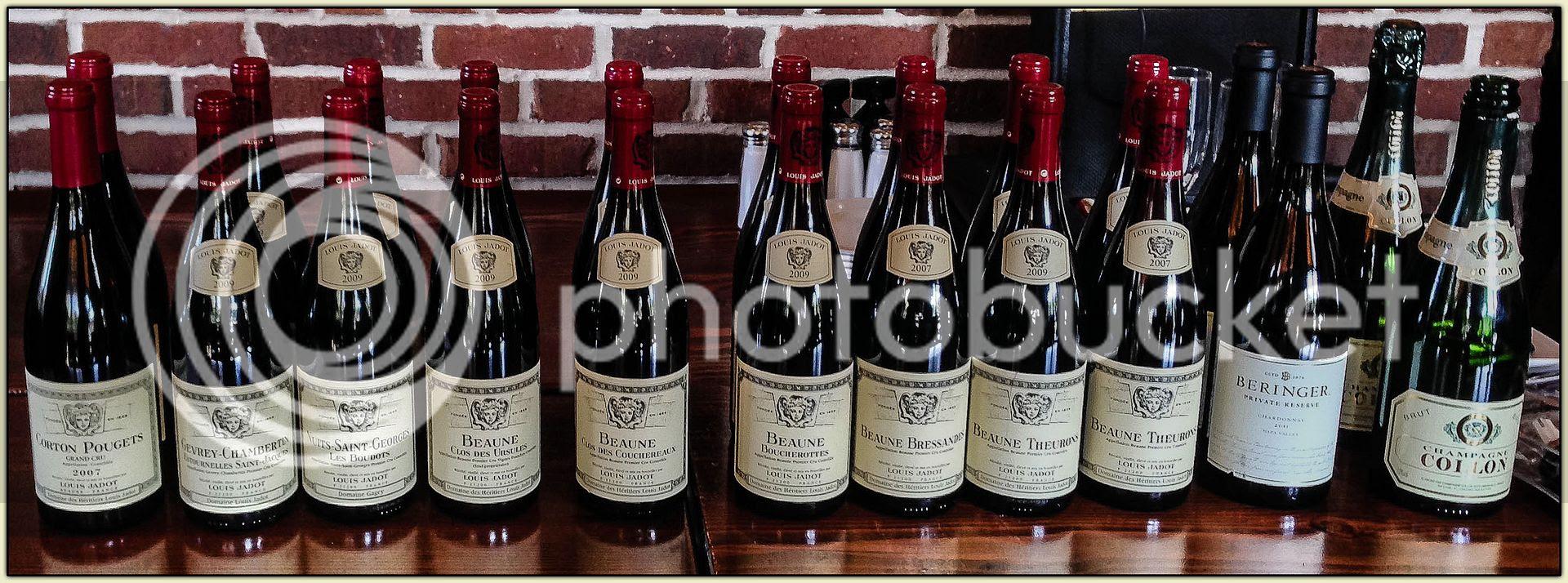 Jadot Burgundies