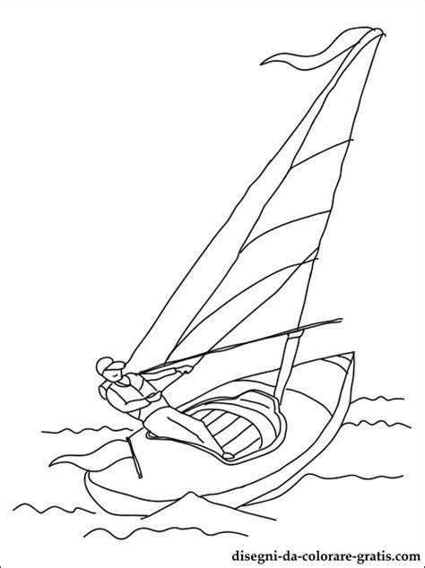 disegno  vela sport da stampare disegni da colorare gratis