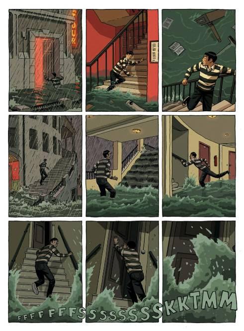 """página de """"las calles de arena"""" de Paco Roca, edita Astiberri"""