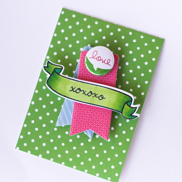 LawnFawn notecards xoxo latishayoast