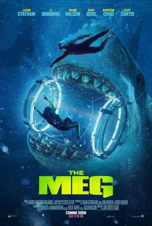 Resultado de imagem para movie poster The Meg