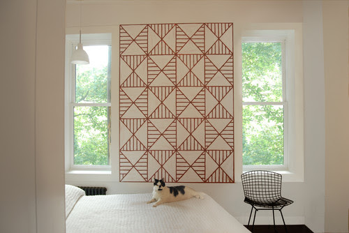 DIY Interior Design Ideas for the Home - DIY Stencil Wallpaper Ideas | Live Love in the Home