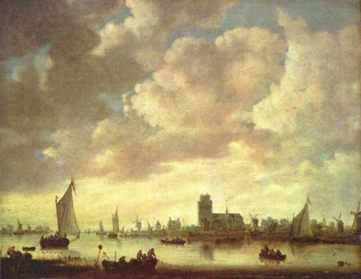 Jan van Goyen, Merwede bei Dordrecht, 1645