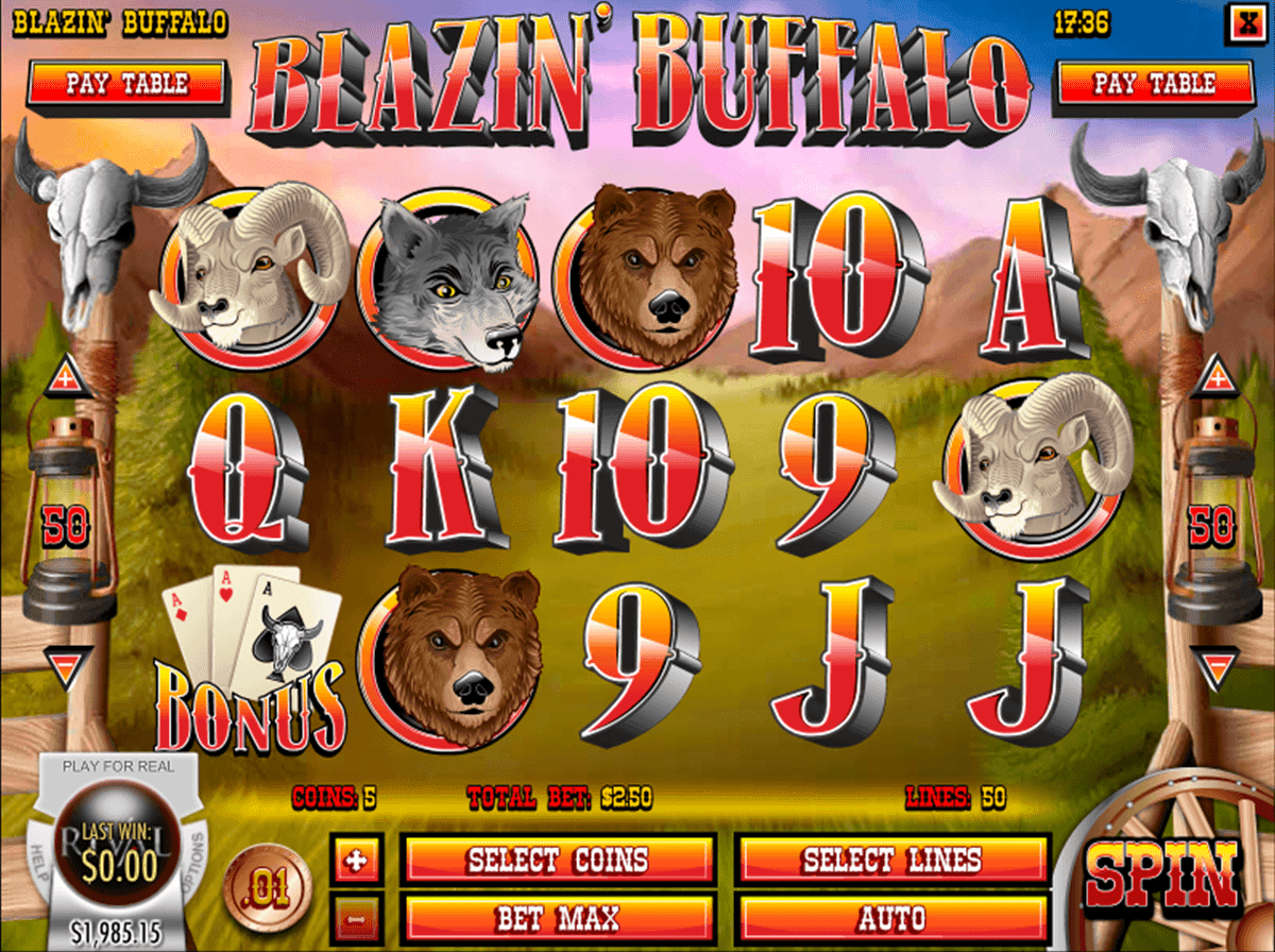 Blazin buffalo rival casino slots view tournament leaderboard