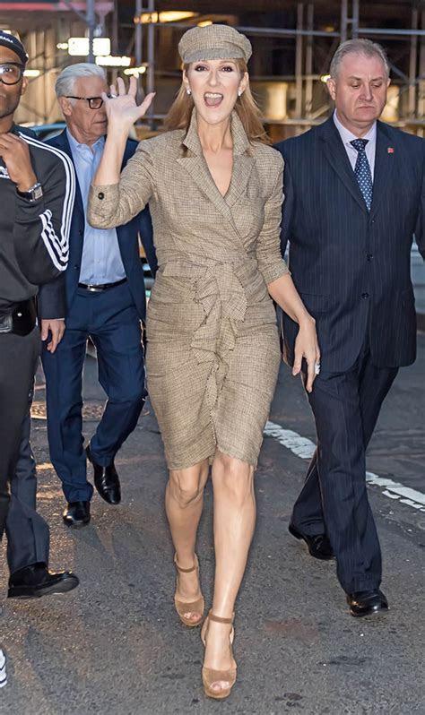Celine Dion in New York ahead of 2017 MET Gala
