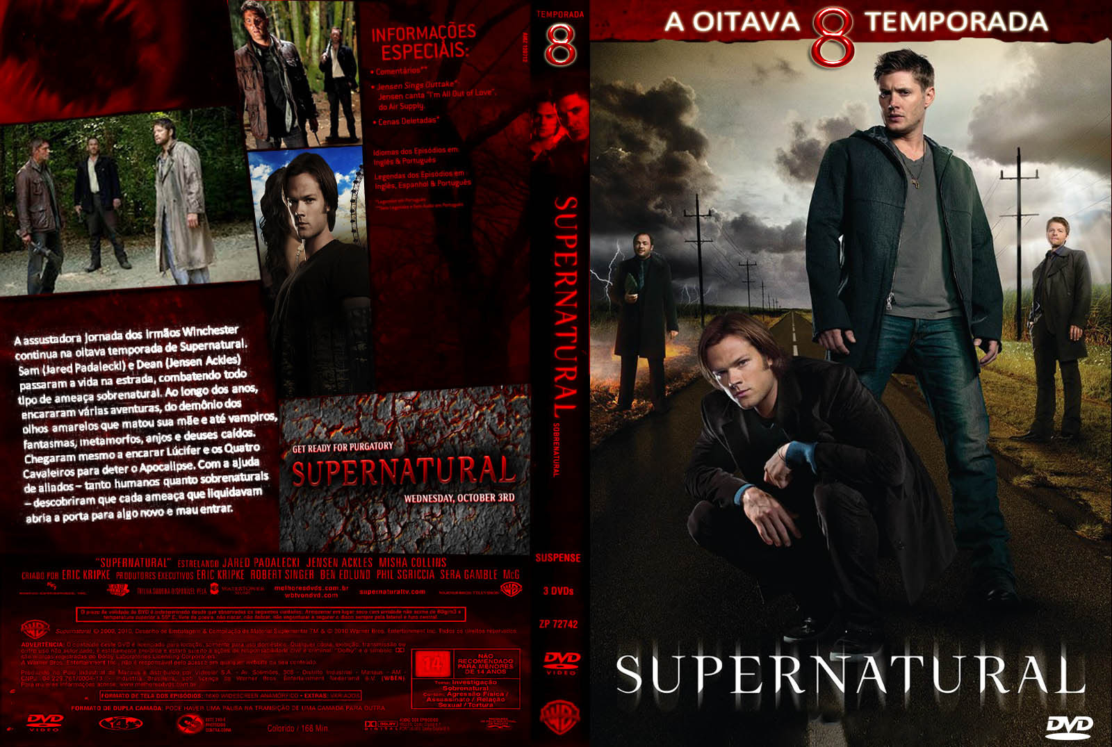 Supernatural 8º Temporada Torrent - DVDRip Dublado (2013)