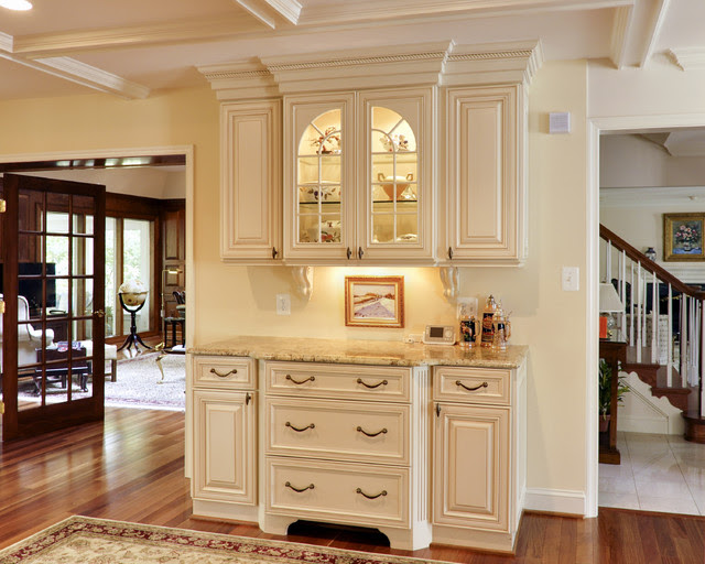 Elegant French Country Kitchen - traditional - kitchen - dc metro