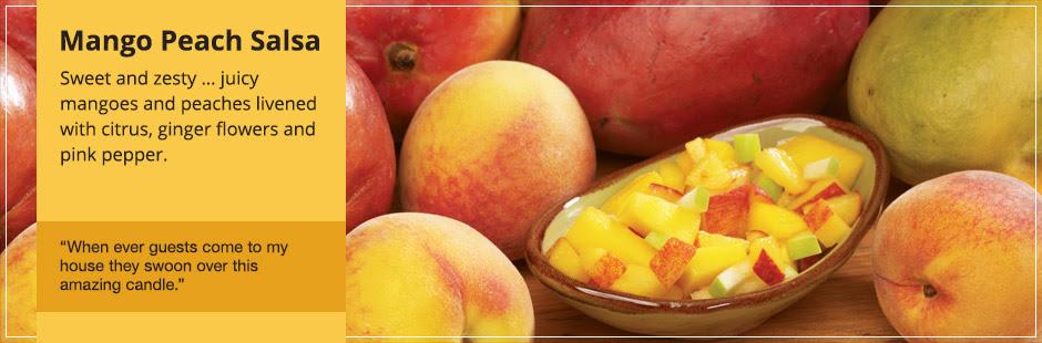 Znalezione obrazy dla zapytania mango peach salsa yankee