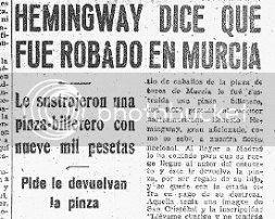 Hemingway robado