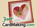 Free heart card project -- download today!