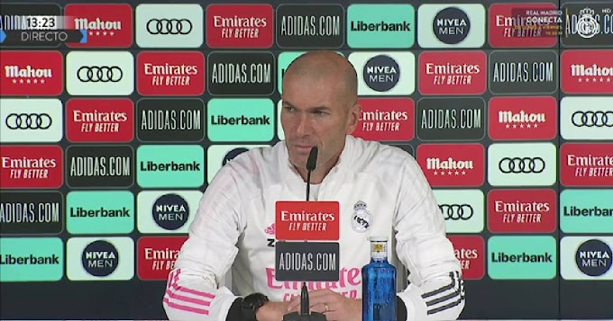 Zinedine Zidane on Atletico game: 'It's another final'