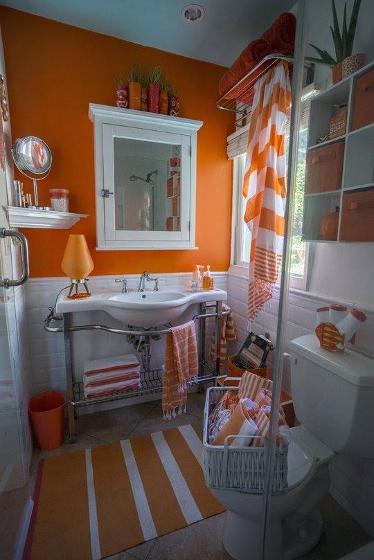 Orange Home Fashion Beyond October