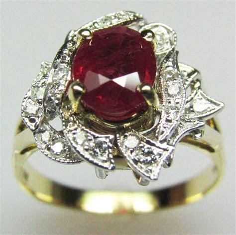 Fire And Ice Engagement Ring   Engagement Ring USA