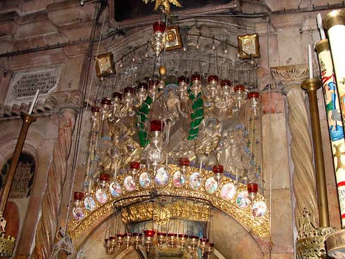Deasura intrarii in Sfantul Mormant Ierusalim