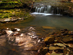 sunlight and waterfall photography...
