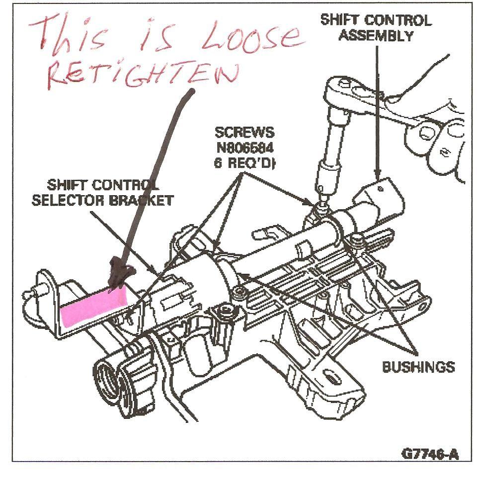 33 Ford Ranger Shift Linkage Diagram