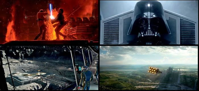 Revenge of the Sith montage.