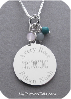 Personalized Family Gold Filled Necklace
