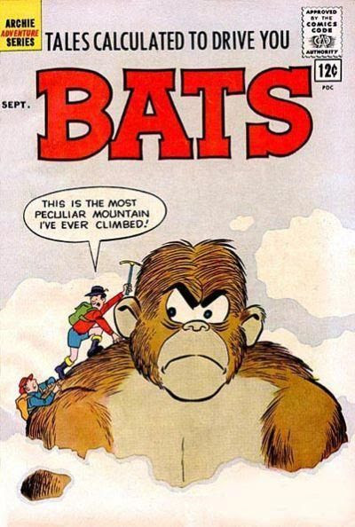Bats #6 cover