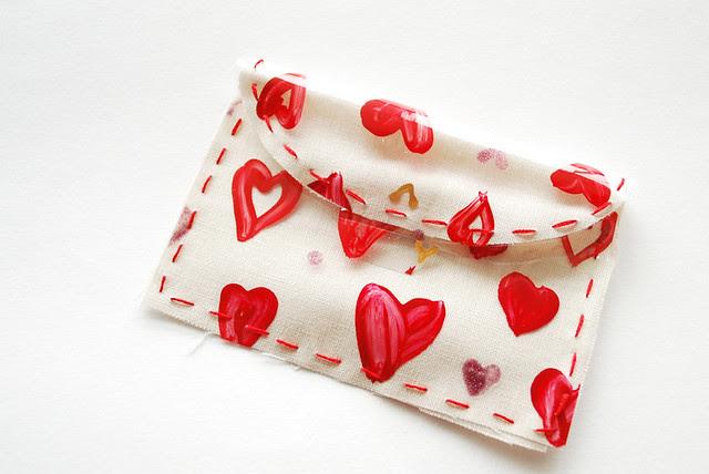 Vinyl Valentine Envelope