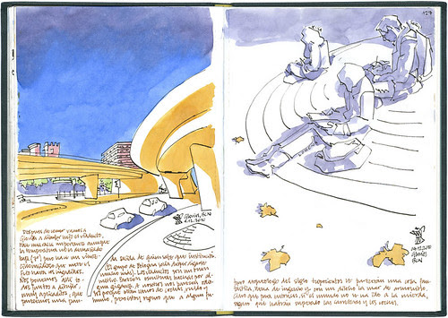 Barcelona, 29 1/2th SketchCrawl #5